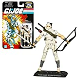 Hasbro Year 2007 G.I. JOE '25th Anniversary' Series 4 Inch Tall Action Figure - NINJA STORM SHADOW with 2 Katana Swords, Quiver with Arrows, Bow, Dagger and Display Base