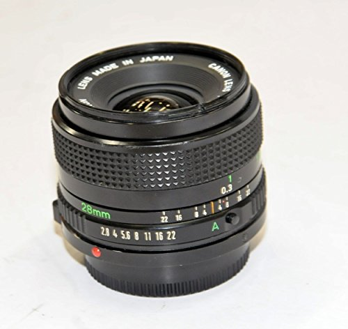 Canon MFレンズ NewFD 28mm F2.8