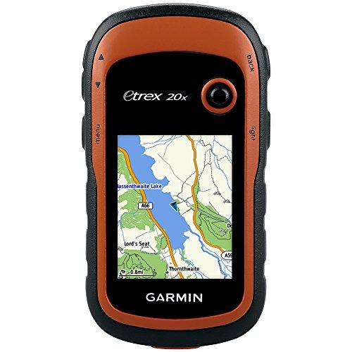 Garmin eTrex 20x GPS Portatile, Schermo 2.2', Mappa TopoActive Europa Occidentale, Arancio/Nero