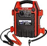 BILT HARD Jump Starter with Air Compressor, 900 Peak/400 Instant Amps, 250 PSI Air Compressor, Portable Power Station with 2.1A USB Port and 12V DC Port