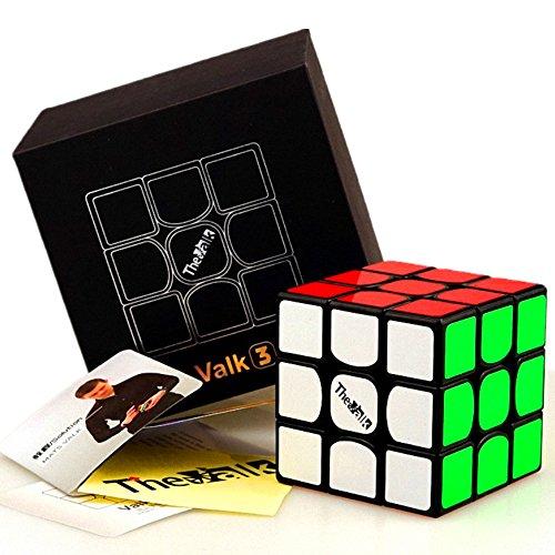CuberSpeed QiYi Valk 3 3x3x3 Black Magic Cube QiYi MoFangGe The Valk 3 3X3X3...