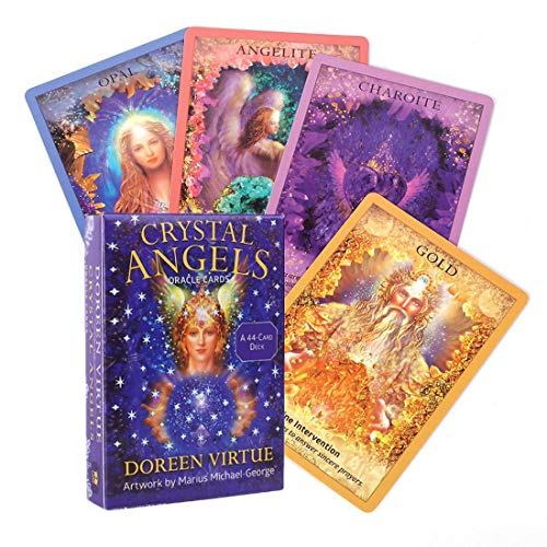 44 Cards Crystal Angel Oracle Tarot Cards,Card Games...