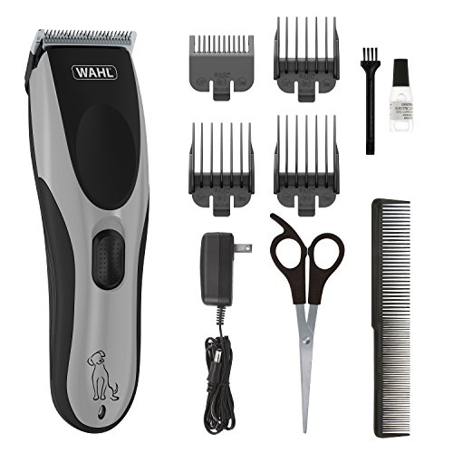 Wahl Easy Pro for Pets, Rechargeable Dog Grooming Kit  Quiet, Low Noise, Heavy-Duty Electric Dog Clippers for Dogs & Cats with Thick to Heavy Coats - Model 9549 (09549)