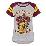 Harry Potter - Maglietta Capitano Squadra di Quidditch Grifondoro - Donna