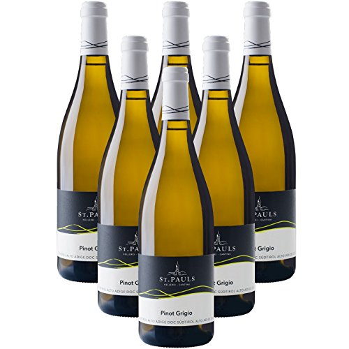Pinot Grigio Alto Adige St. Pauls vino bianco Cantina Produttori San Paolo (6 bottiglie 75 cl.)