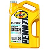 Pennzoil - 550046126 Platinum Full Synthetic 5W-30 Motor Oil (5-Quart, Single-Pack), Packaging May Vary