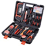 AWANFI Tool Kit 100 Piece DIY Home Household Toolkits for Daily Repair and Maintenance