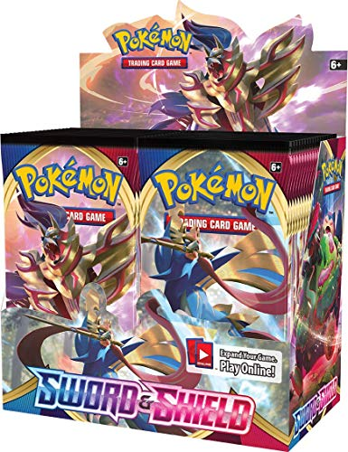 Pokmon TCG: Sword & Shield Booster Box, Multicolor, Model:172-81651