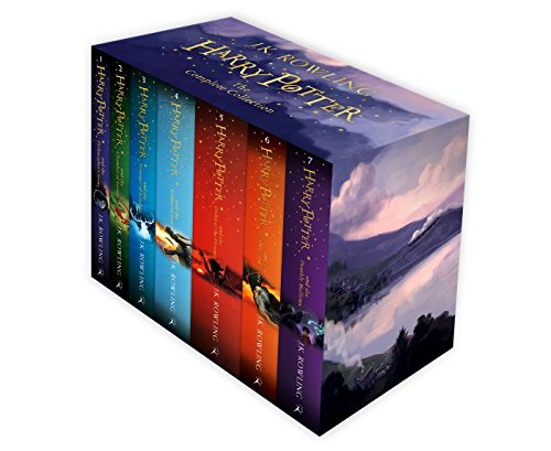 Harry Potter Box Set: The Complete Collection (Childrens Paperback) [Versione Inglese]