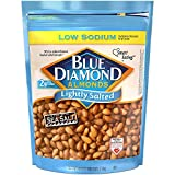 Blue Diamond Almonds Low Sodium Lightly Salted Snack Nuts, 40 Oz Resealable Bag (Pack of 1) (Grocery)