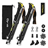 Glymnis Collapsible Trekking Hiking Poles