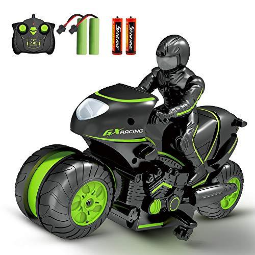Sinovan Ferngesteuerte Auto Motorrad für Kinder, 2,4Ghz Ferngesteuertes...