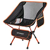 Oudort Président Portable Chaise de Camping, Chaise Pliante Ultra légère...