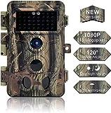 Caméra de Chasse 16MP 1080P IP66 Étanche, Caméra Surveillance avec 40Pcs...