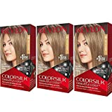 Revlon ColorSilk Colore dei capelli, 60 scuro Biondo Cenere 1 bis (pacchetto di...
