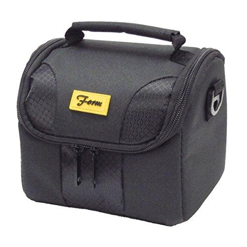 【アマゾンオリジナル】 ETSUMI ショルダーバッグ Form マルチカメラバッグ 1.8L ブラック ETM-83896