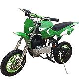 X-PRO 40cc Kids Dirt Bike Mini Pit Bike Dirt Bikes Motorcycle Gas Power Bike Off Road,Green