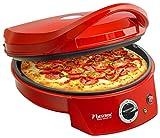 Bestron Four à pizza avec gril, Viva Italia, Chaleur supérieure et...