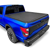 Tyger Auto T3 Soft Tri-Fold Truck Bed Tonneau Cover Compatible with 2017-2021 Nissan Titan Without...