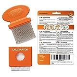 Peigne anti poux lentes Lausinator - en métal - original 3 en 1 très fin -...