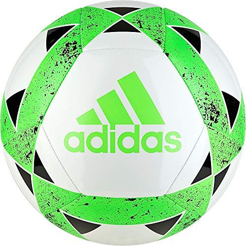 adidas Starlancer V Soccer Ball - White/Green/Black, 4