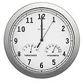 bonVIVO Timerider Horloge Murale Radio-Pilotée Ultra-Précise, Pendule Murale...