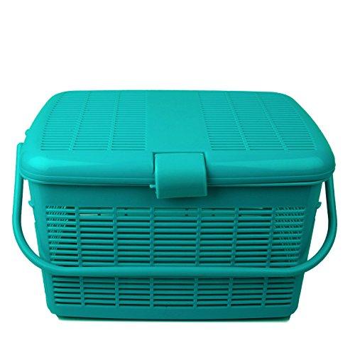 Cello MultiMate Plastic Jumbo Laundry Basket (Green)