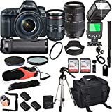 Canon EOS 5D Mark IV with 24-105mm f/4 L is II USM + Tamron 70-300mm + 128GB Memory + Canon Camera...