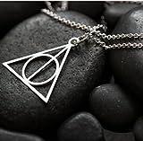 Collar simple Fashion Stylish Jewelry con símbolo de Las reliquias de la muerte...