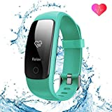 runme Fitness Tracker Upgraded 2018 3rd Generation Activity Tracker, Sports Fitness Watch with Sleep and Heart...