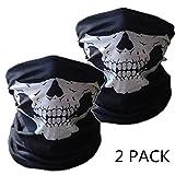 SOFIT SF-02 Skull Masque de Tubulaire Extensible, Masques Visage de crâne, Masque de Motoneige de...
