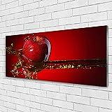 Tulup Impression sur Verre de 125x50 cm - Image - Tableau - Photo décorative...