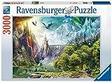 Ravensburger- Puzzle 3000 pièces-Règne des Dragons Adulte, 4005556164622