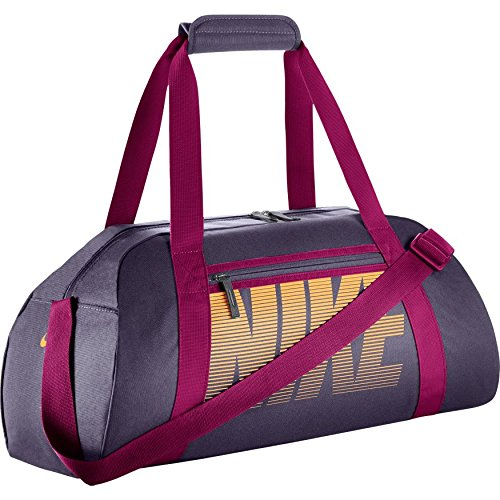 Nike Gym Club Women's Training Duffel Bag (One Size, DARK RAISIN/SPORT FUCHSIA/MELON TINT)