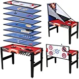Fran_store 48'' 14 in 1 Multi Game Combination Table,Combo Arcade Game Table