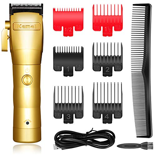 Kemei Professional Mens Hair Clippers Hair Trimmer for Men...