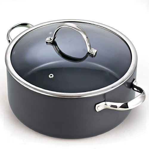 Nonstick Dutch Oven Casserole Stockpot, 7-Qt