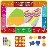 hsj WDX- Eau Canvas 120 * 90 Enfants Magique Magique Couverture écriture Toile...