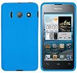 Mumbi Coque pour Huawei Y300 Bleu
