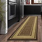 Silk Road Concepts Runner Rug, 20' x 59', Chocolate Brown