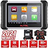 Autel MaxiPRO MP808K OBD2 Diagnostic Scanner, 2021 Newest Upgraded of MP808, Same as MS906, Active Test, Key Coding, Bi-Directional Control, OE All Systems Diagnostics, Oil Reset, EPB, SAS, DPF, BMS