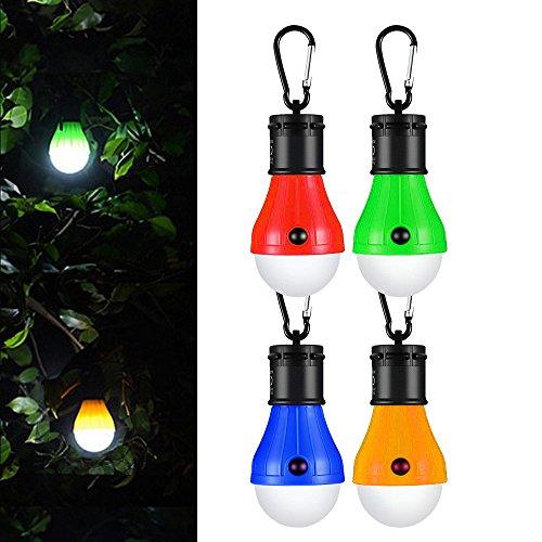 LED da Campeggio,Hovast Impermeabile Esterno LED Emergenza Lampada Portatile Alimentata a Batterie...
