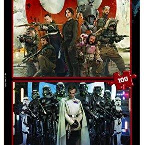 Star Wars - Puzzle Rogue One, 2 x 100 Piezas (Educa Borras 17012)