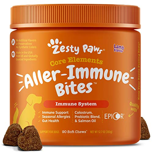 Zesty Paws Allergy Immune Supplement for Dogs...