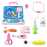 Wghz Kids Doctors Kit Doctor Kit, niños Que juegan al Doctor Nurse Toolbox Caja de Juegos para niños Caja de Juguetes para niños, niñas y niños pequeños (Color: 525B, Tamaño: Talla única)