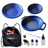 Minelab PRO-Gold Gold Panning Kit 2 Gold Pans, Classifier and More