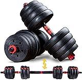 Sportstech 2in1 innovatives Hantel Set AH150   Kurzhanteln & Langhanteln   Hanteln im 20kg, 30kg, 40kg Set  ...