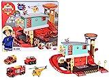 Dickie - Sam le Pompier - Centre de Secours + 4 Véhicules - 1 Etage - Dès 3...