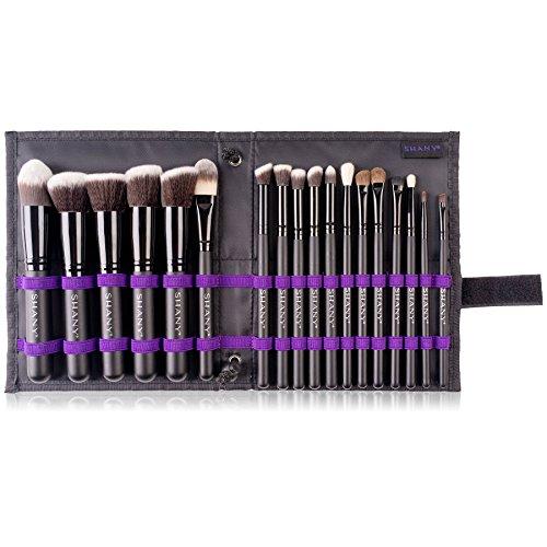 Product Image 9: SHANY Artisan's Easel – Elite Cosmetics Brush Collection, Complete Kabuki Makeup Brush Set with Standing Convertible Brush Holder, 18 pcs