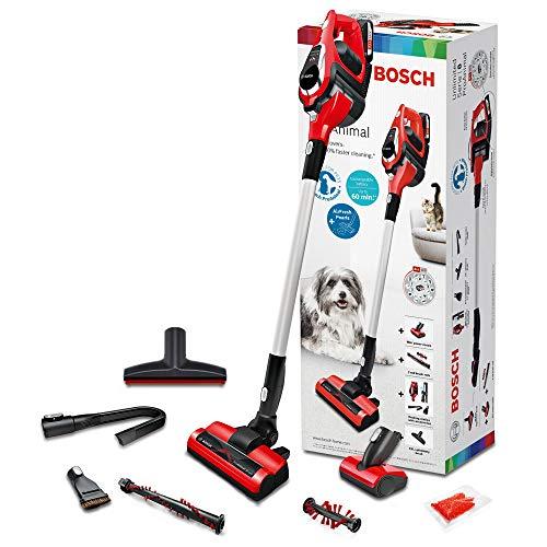 Bosch ProAnimal Unlimited Serie 8 BBS1ZOO Aspirador escoba sin cable especial mascotas, hasta 60 minutos de duración, incluye 1 batería extraíble,...